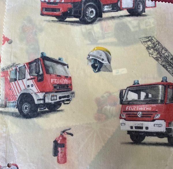 Bienenwachstuch Feuerwehr
